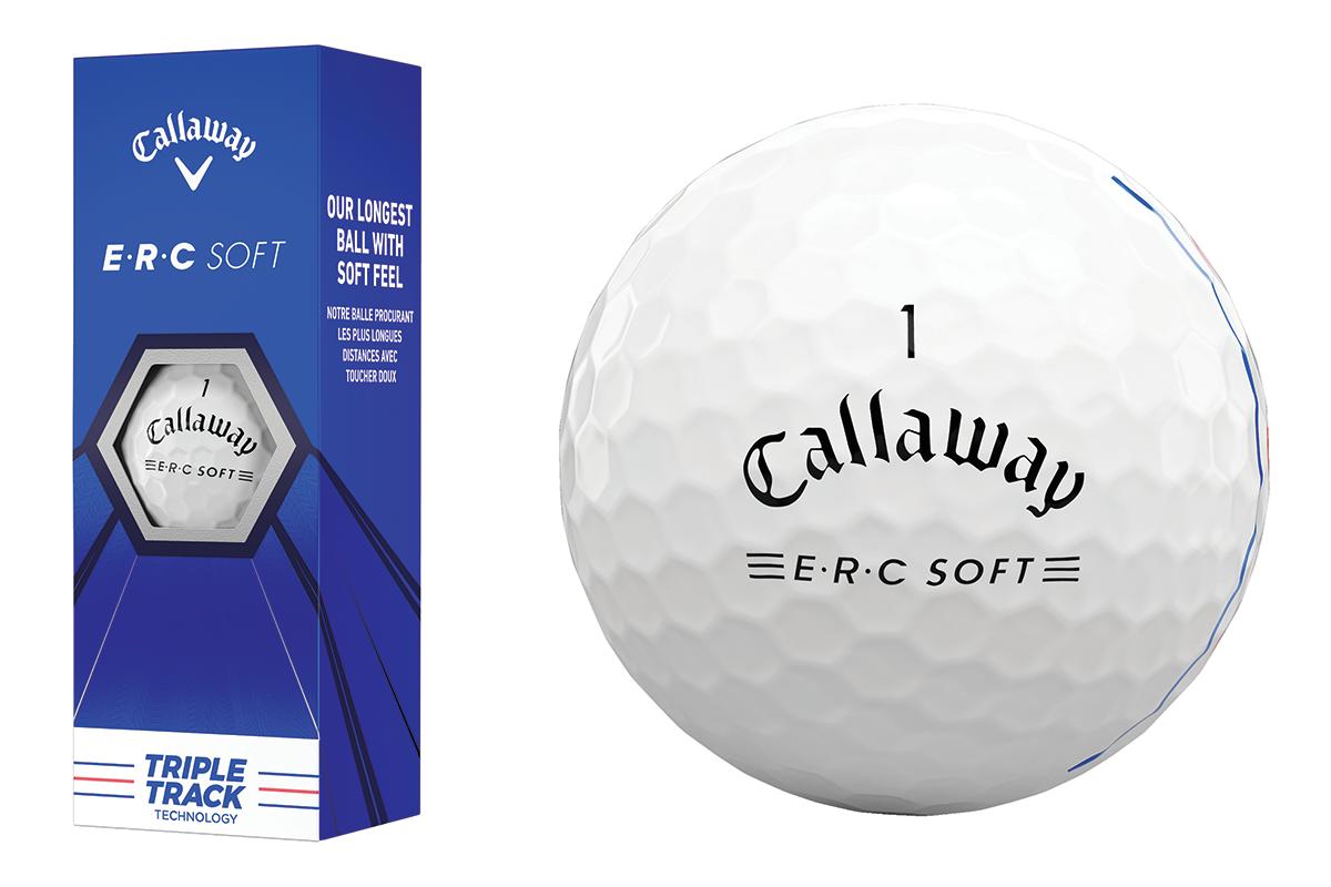 The new Callaway Golf ERC Soft Golf Ball